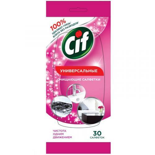 Чистящие салфетки Cif Для дачи универсальные 30шт.