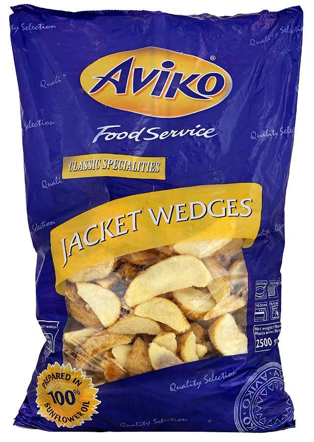Картофель дольки со специями в кожуре, AVIKO
