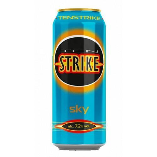 Пивной напиток Ten Strike Sky 7,2%