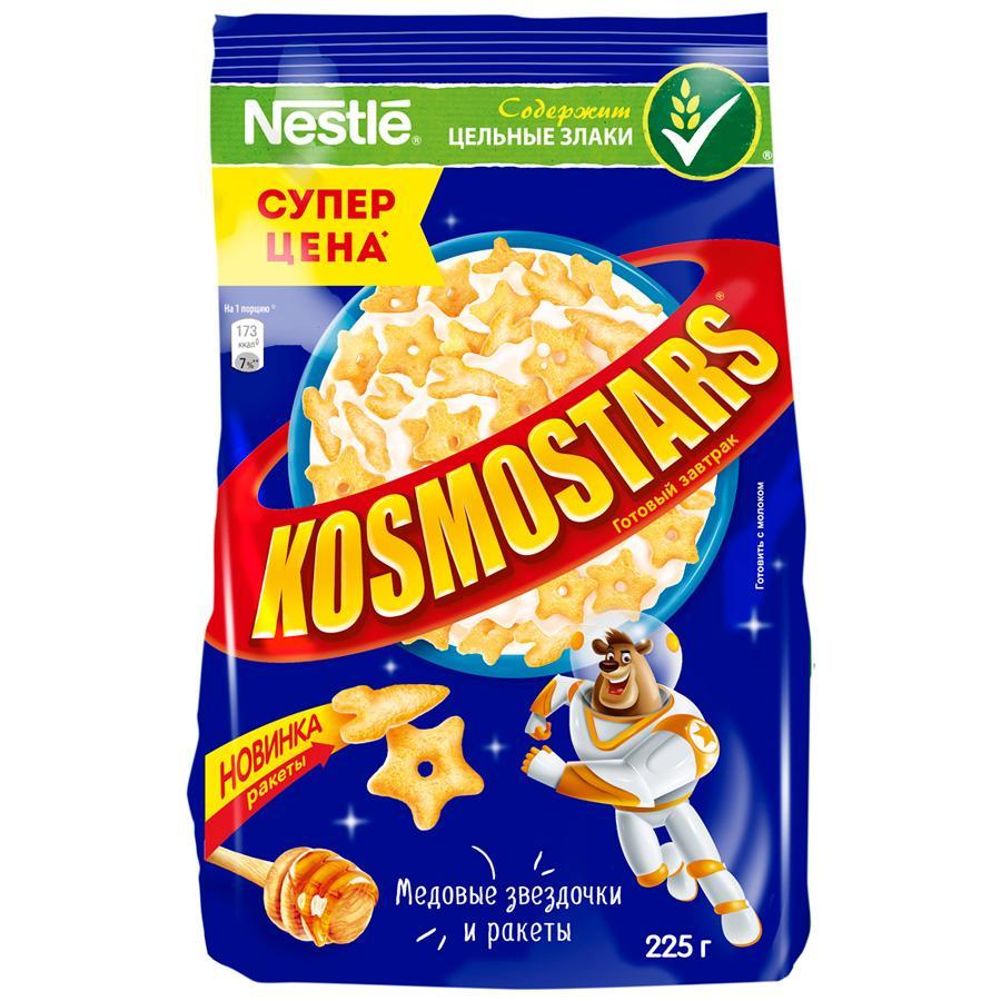 Завтрак готовый Nestle Kosmostars медовые звездочки и луны