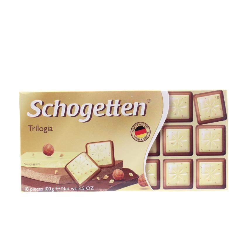 Шоколад Schogetten Трилогия 100 гр.