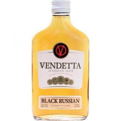 Напиток винный Vendetta Black Russian особый сладкий