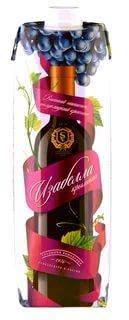 Вино Союз-Вино Изабелла Крымская красное полусладкое 10%