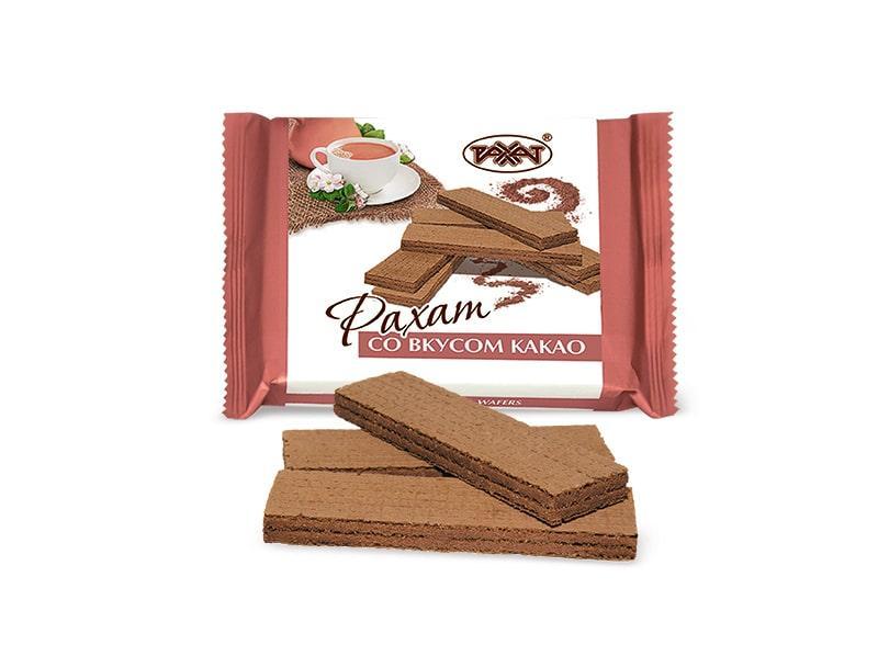 Вафли Рахат со вкусом какао