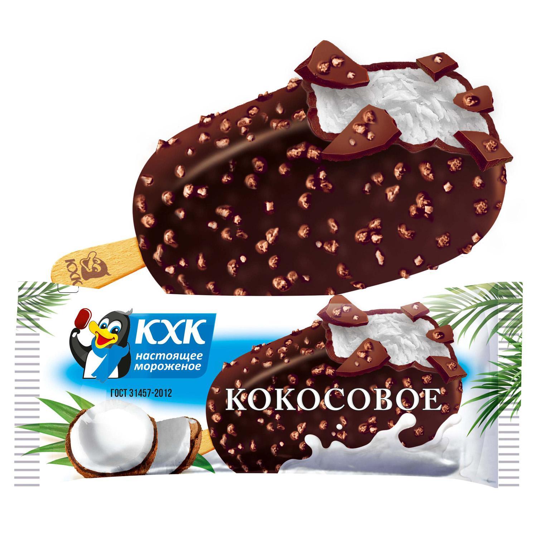 Мороженое КХК Эскимо кокосовое