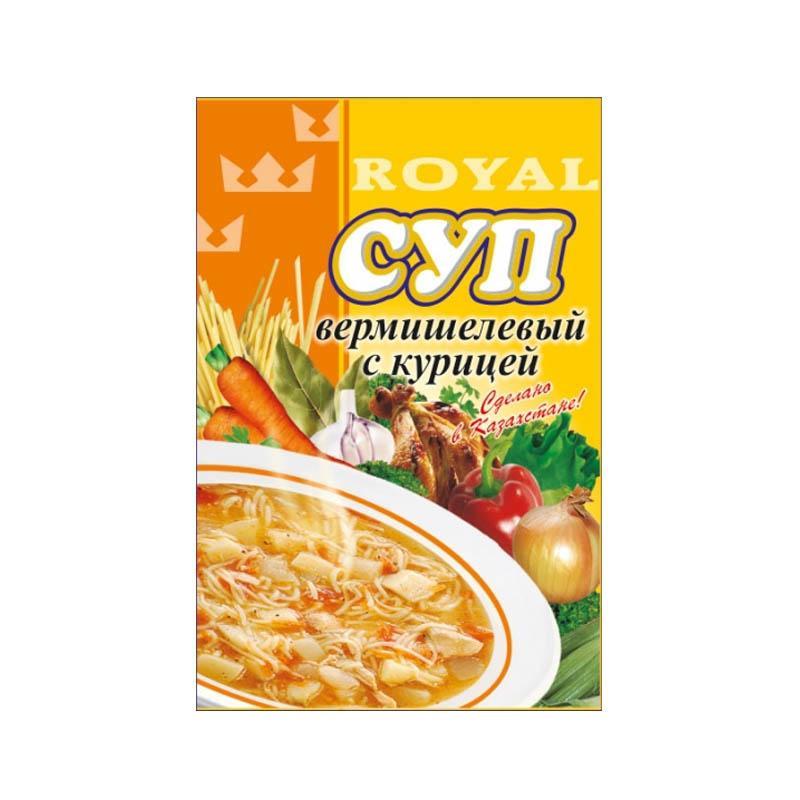 Суп Royal Food Вермишелевый с курицей