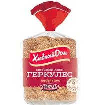 Хлеб Хлебный дом Геркулес зерновой формовой в нарезке