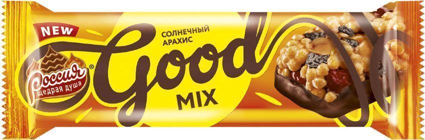 Батончик Россия Good Mix Арахис