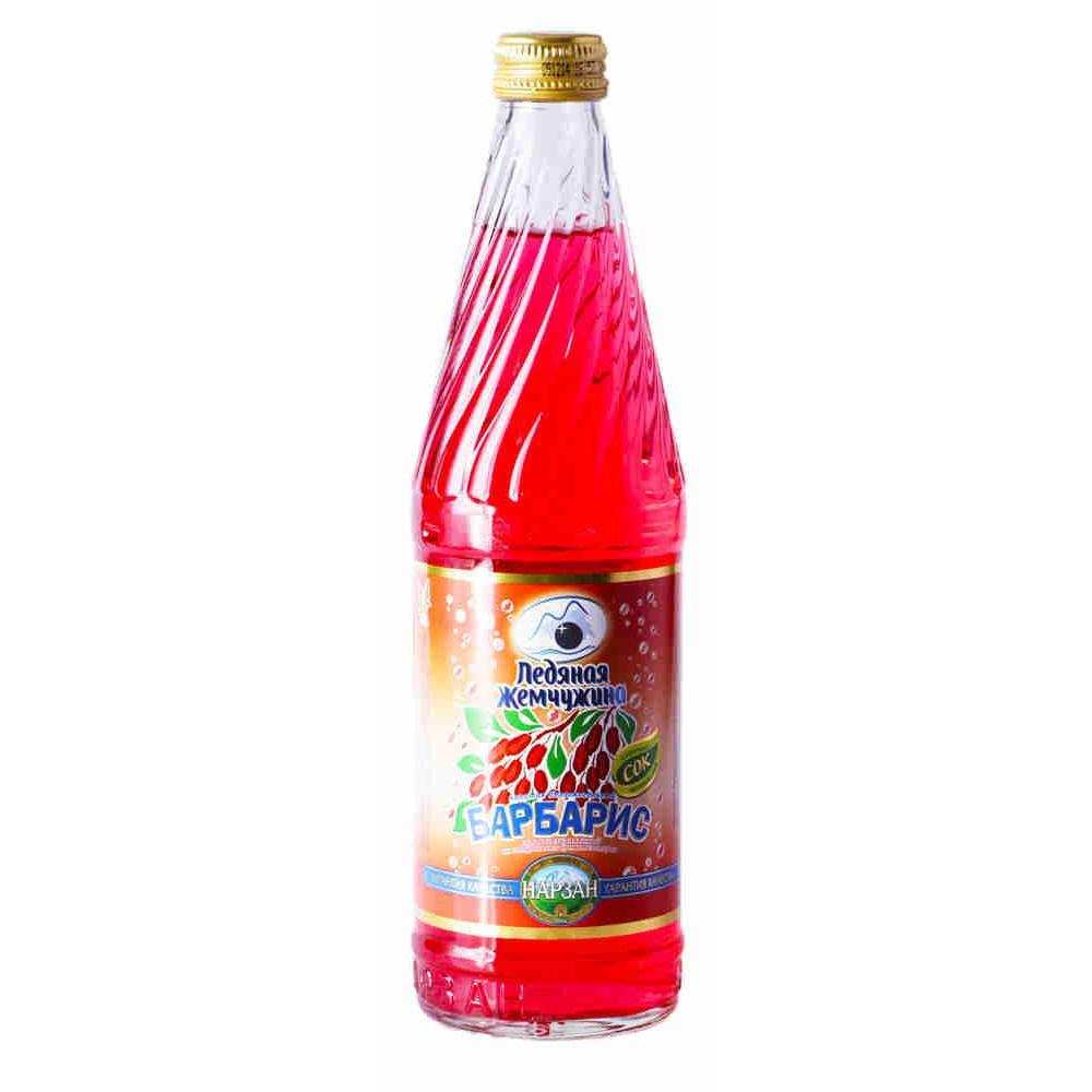 Газированный напиток Нарзан Ледяная жемчужина барбарис