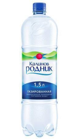 Вода минеральная Калинов родник газированная