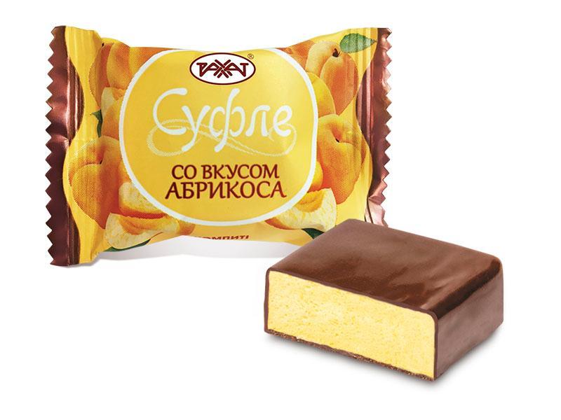 Суфле Рахат со вкусом Абрикоса