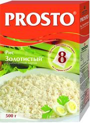 Крупа рисовая Prosto длиннозерный пропаренный