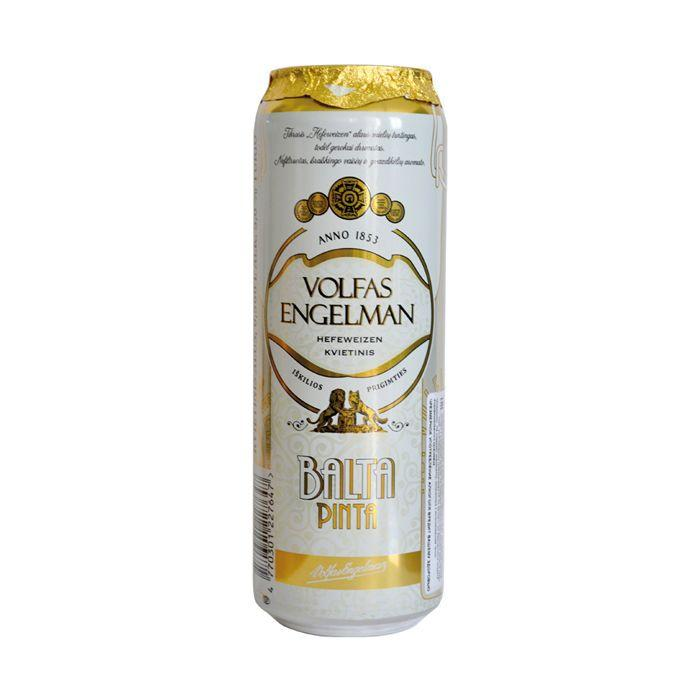 Пиво Volfas Engelman balta pinta 5,3%