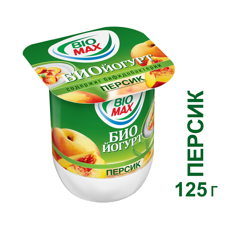 Йогурт вяз Bio-Max пер 2.5% 1х24х125г Четв