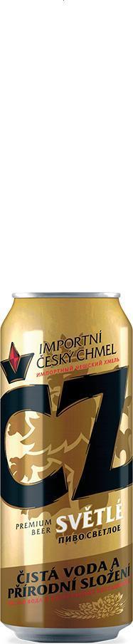 Пиво СZ светлое 5%