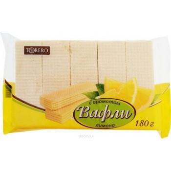 Вафли Torero с ароматом лимона