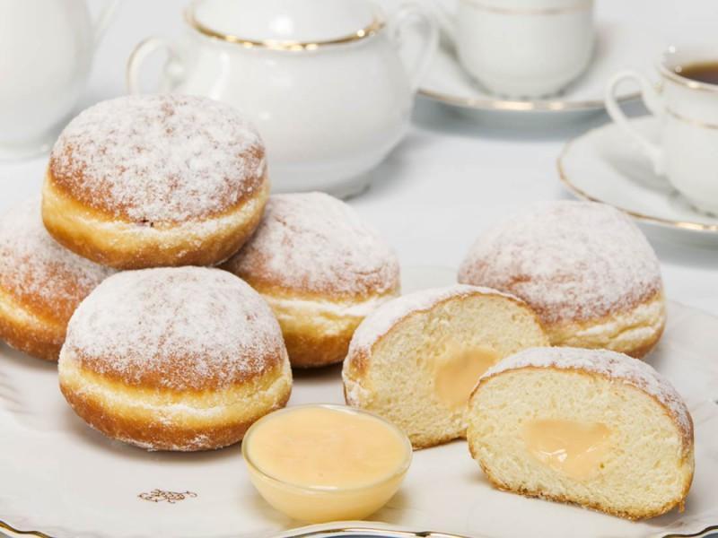Пончики Bonape Берлинские с ванильным кремом