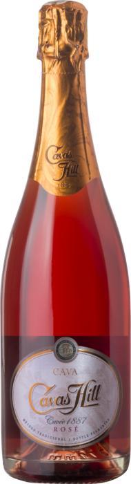 Игристое вино Кава Кюве 1887 Розе / Cava Cuvee 1887 Rose,  Гренаш, Монастрель,  Розовое Сухое, Испания