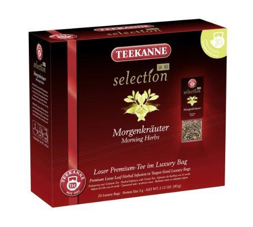 Чай Teekanne Selection 1882 Morgenkruter травяной 20 пакетиков