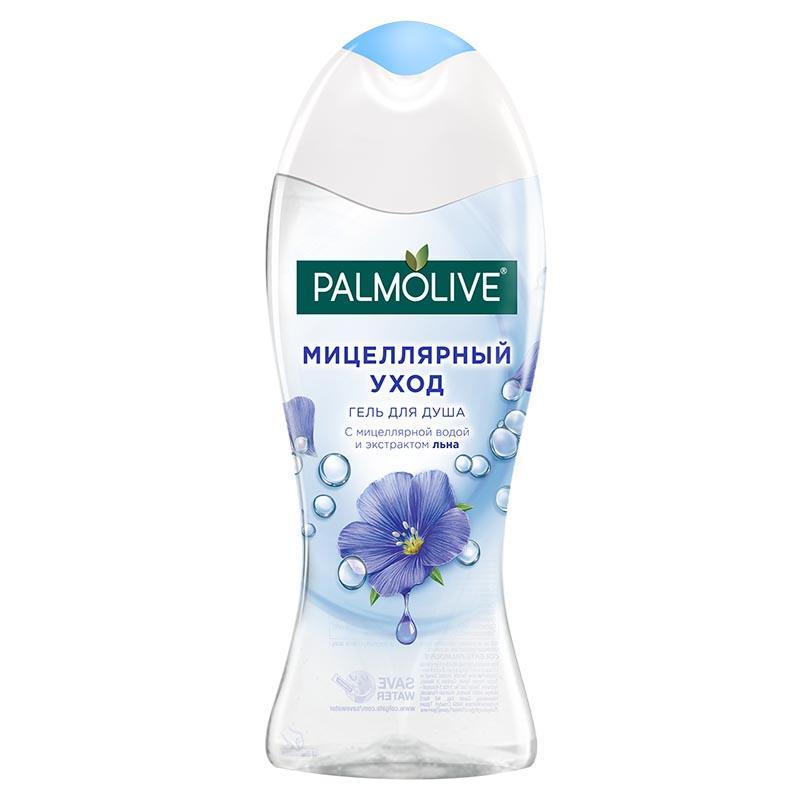 Гель для душа Palmolive Мицеллярный уход С экстрактом льна