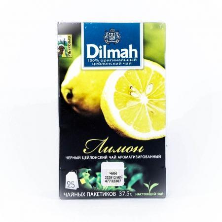 Чай Dilmah с ароматом лимона в пакетиках