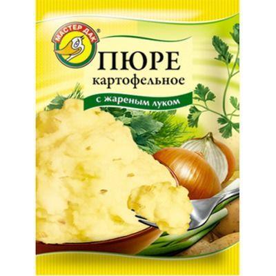 Пюре картофельное Мастер Дак с жареным луком