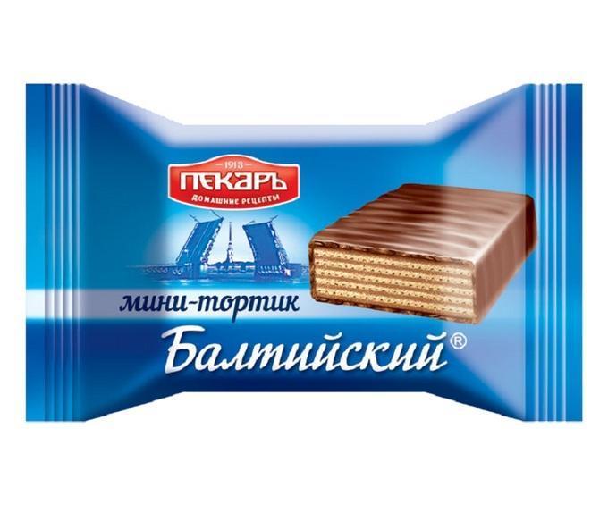Торт Пекарь Балтийский вафельный