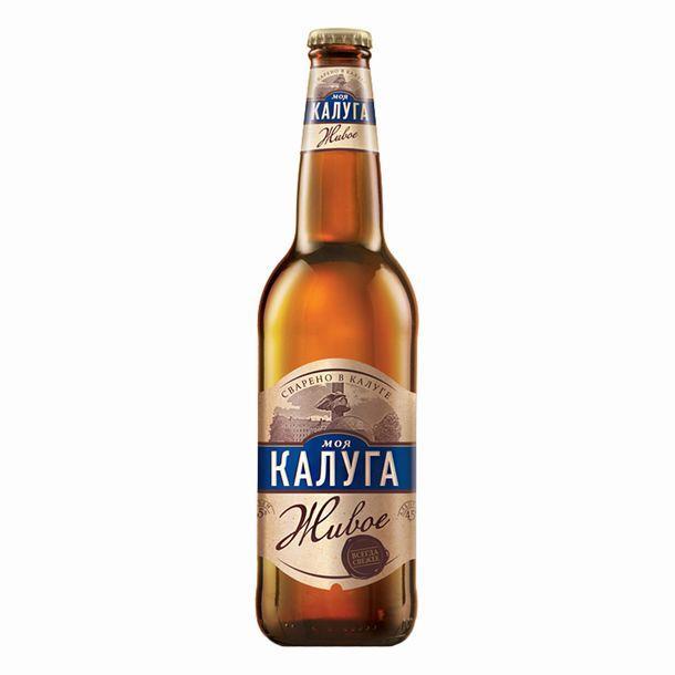 Пиво Моя Калуга живое 4,5%