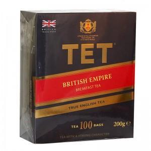 Чай черный ТЕТ Британская империя,100 шт