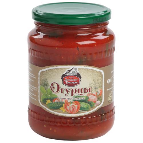 Огурцы Ростовские в томатной заливке
