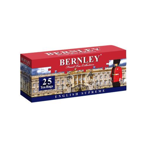 Чай Bernley english supreme черный цейлонский 25 пак.