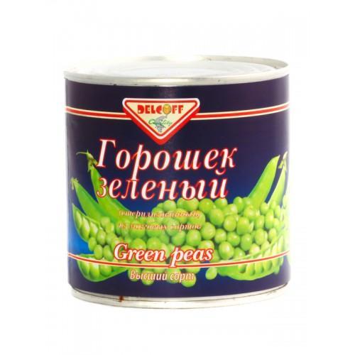 Горошек Delcoff зеленый