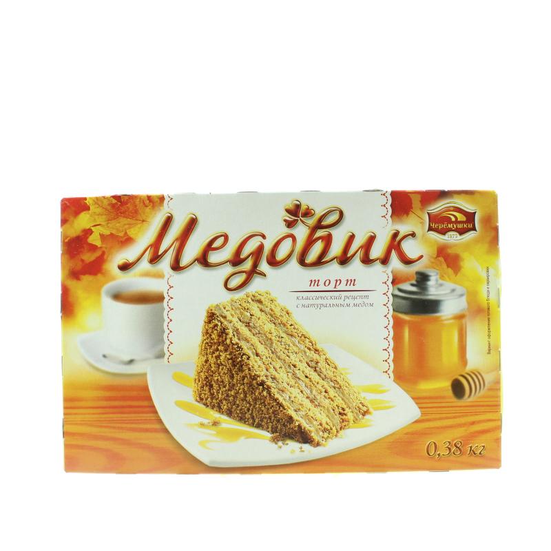 Торт Черемушки Медовик классический с натуральным медом