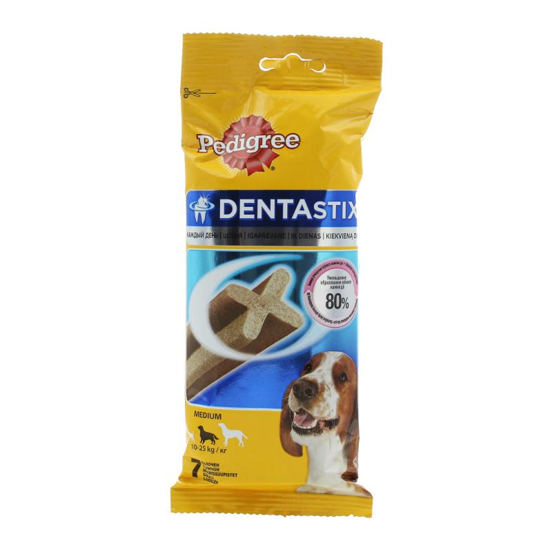 Корм сухой для собак средних и крупных пород по уходу за зубами Pedigree 180 гр. Флоу-пак
