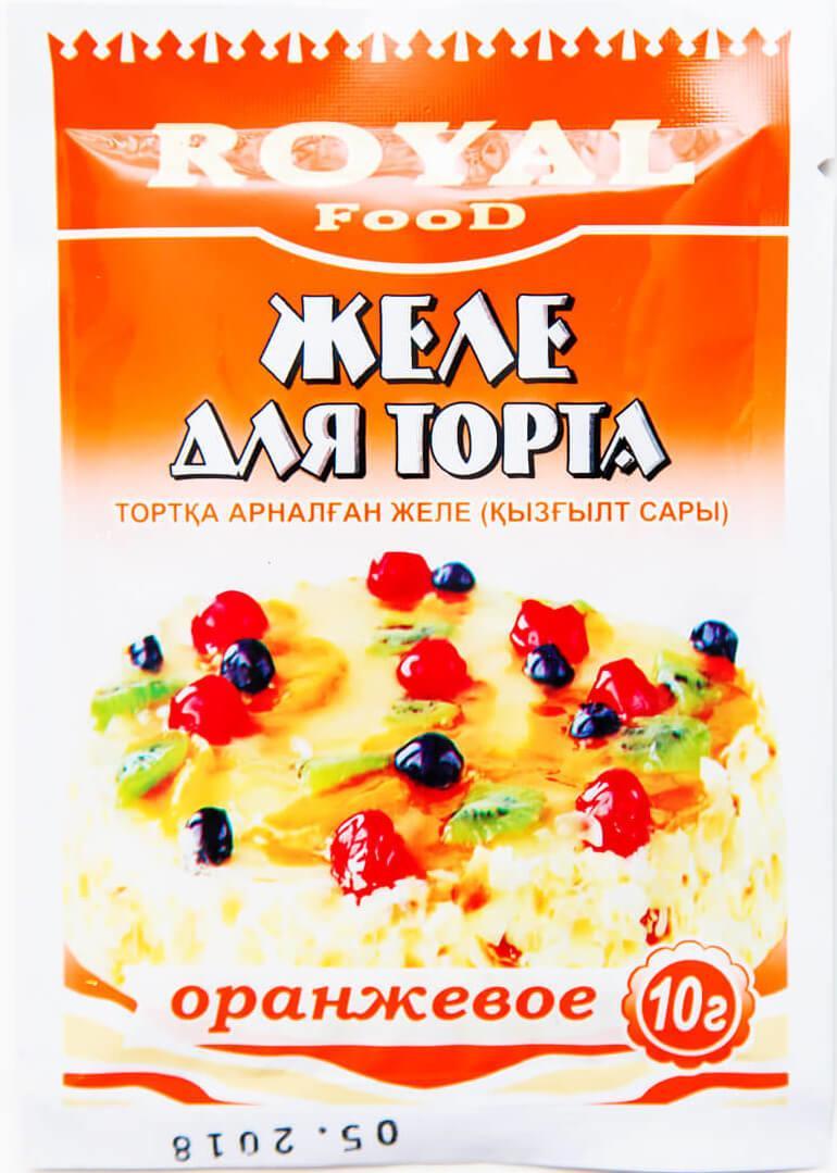 Желе Royal Food для торта оранжевое