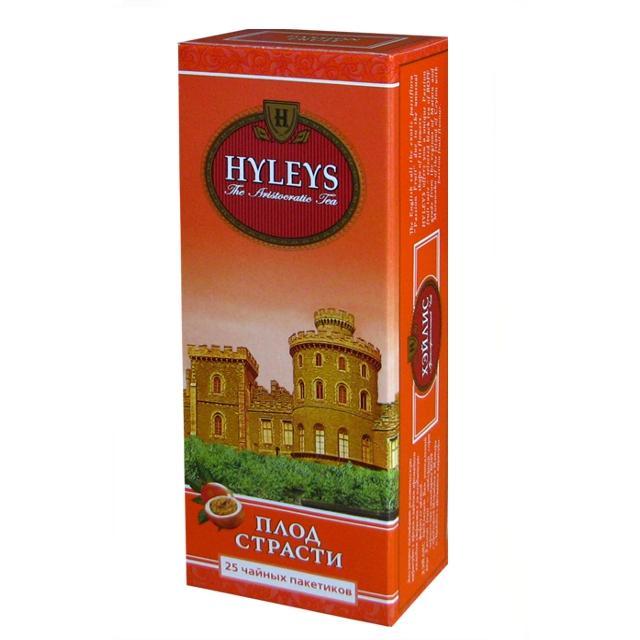 Чай черный Hyleys Плод страсти 25 пакетов
