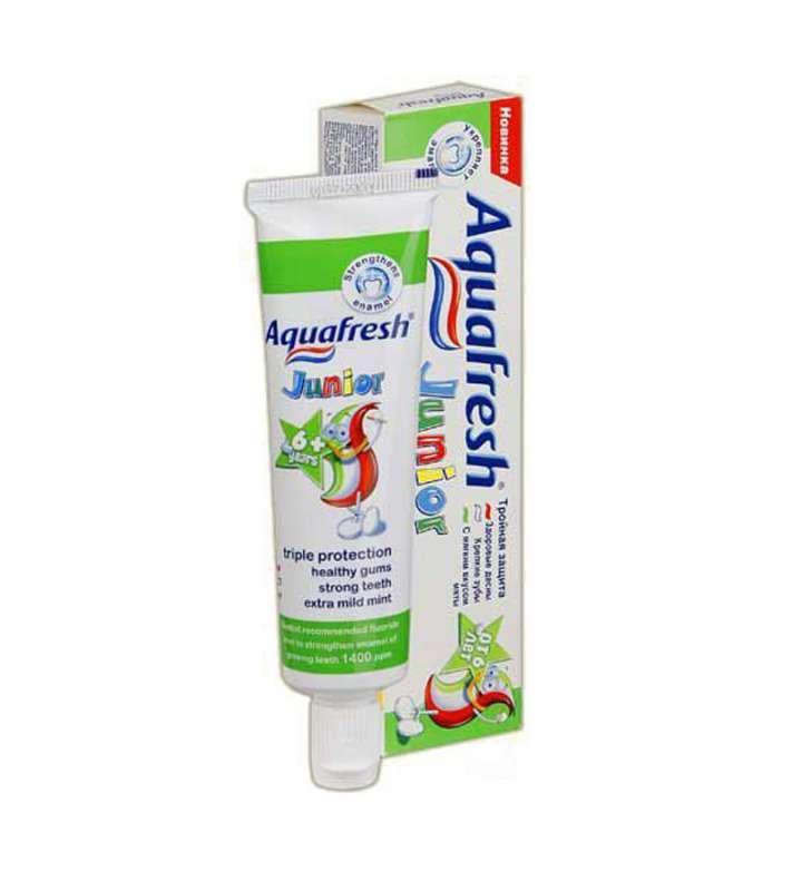 Зубная паста Aquafresh Junior детская