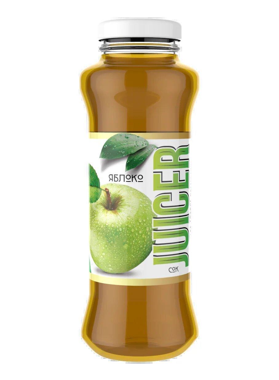 Сок JUICER Яблочный восстановленный осветленный