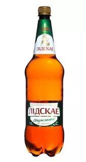Пиво Лидское Старый замок светлое 6,2% 1.5 л
