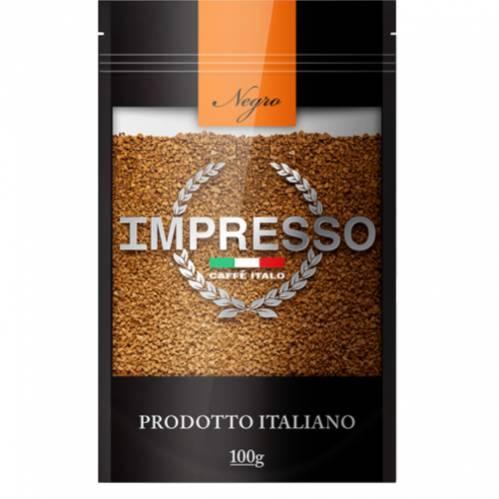 Кофе Impresso Negro кофе растворимый 100 гр.