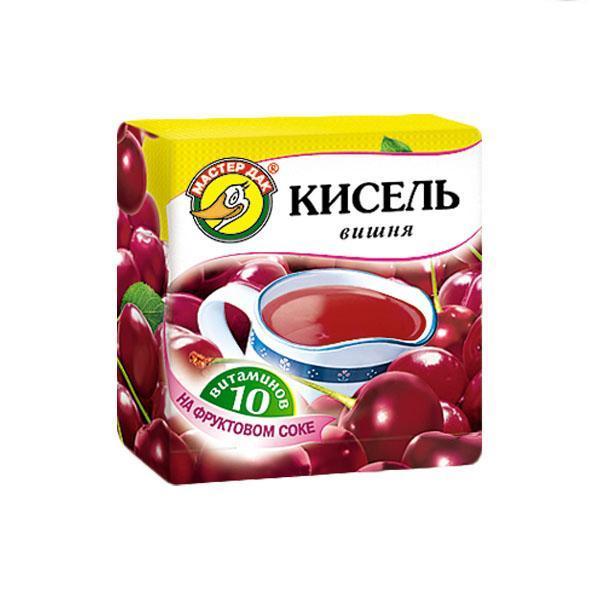 Кисель Мастер Дак Вишня 10 витаминов