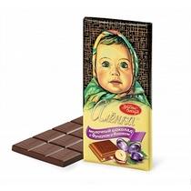 Шоколад Аленка молочный Фундук и изюм 100 гр.