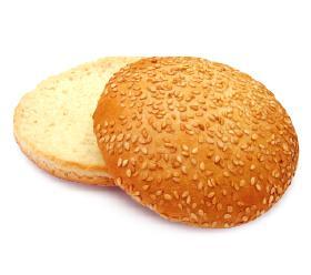 Булочка для гамбургера Своя пекарня с кунжутом 125 мм 40 шт., Россия
