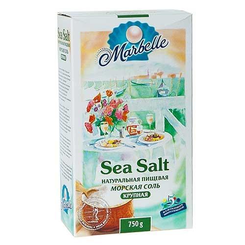 Соль Marbelle морская крупная