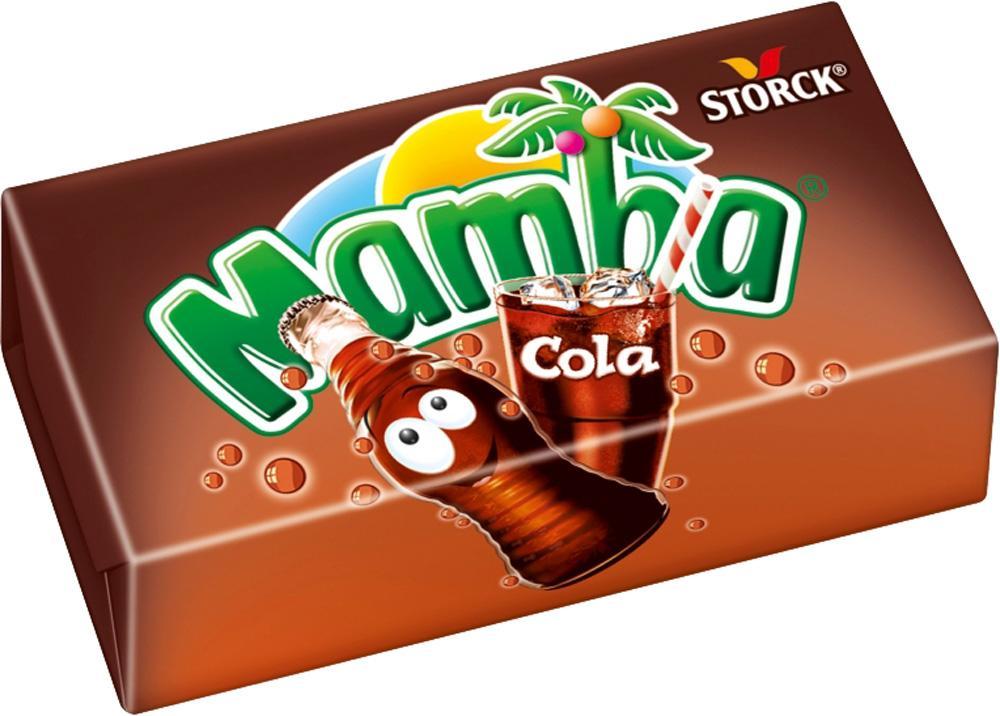 Конфета Mamba Кола и Друзья жевательная