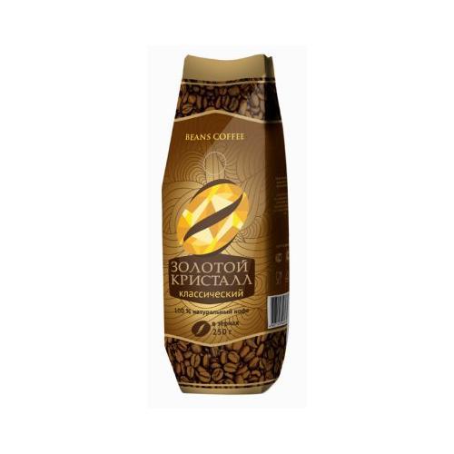 Кофе Almafood Золотой кристалл классический зерно