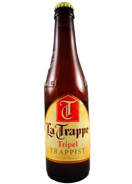 Пиво La Trappe Tripel светлое нефильтрованное