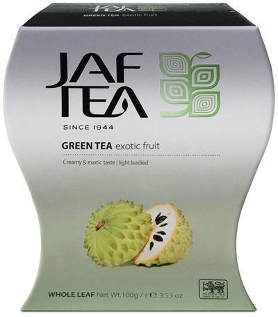 Чай Jaf Tea Exotic зеленый листовой с cоуcап