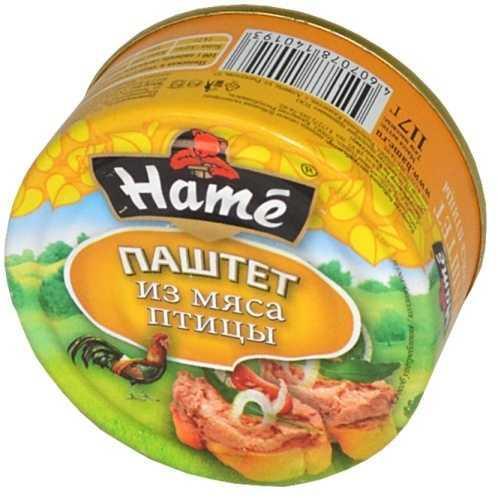 Паштет Hame из мяса птицы
