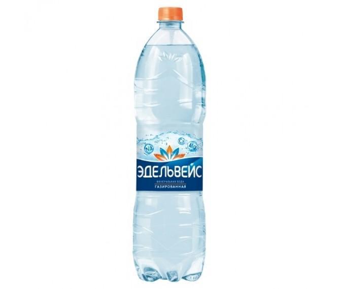 Вода Эдельвейс газированная